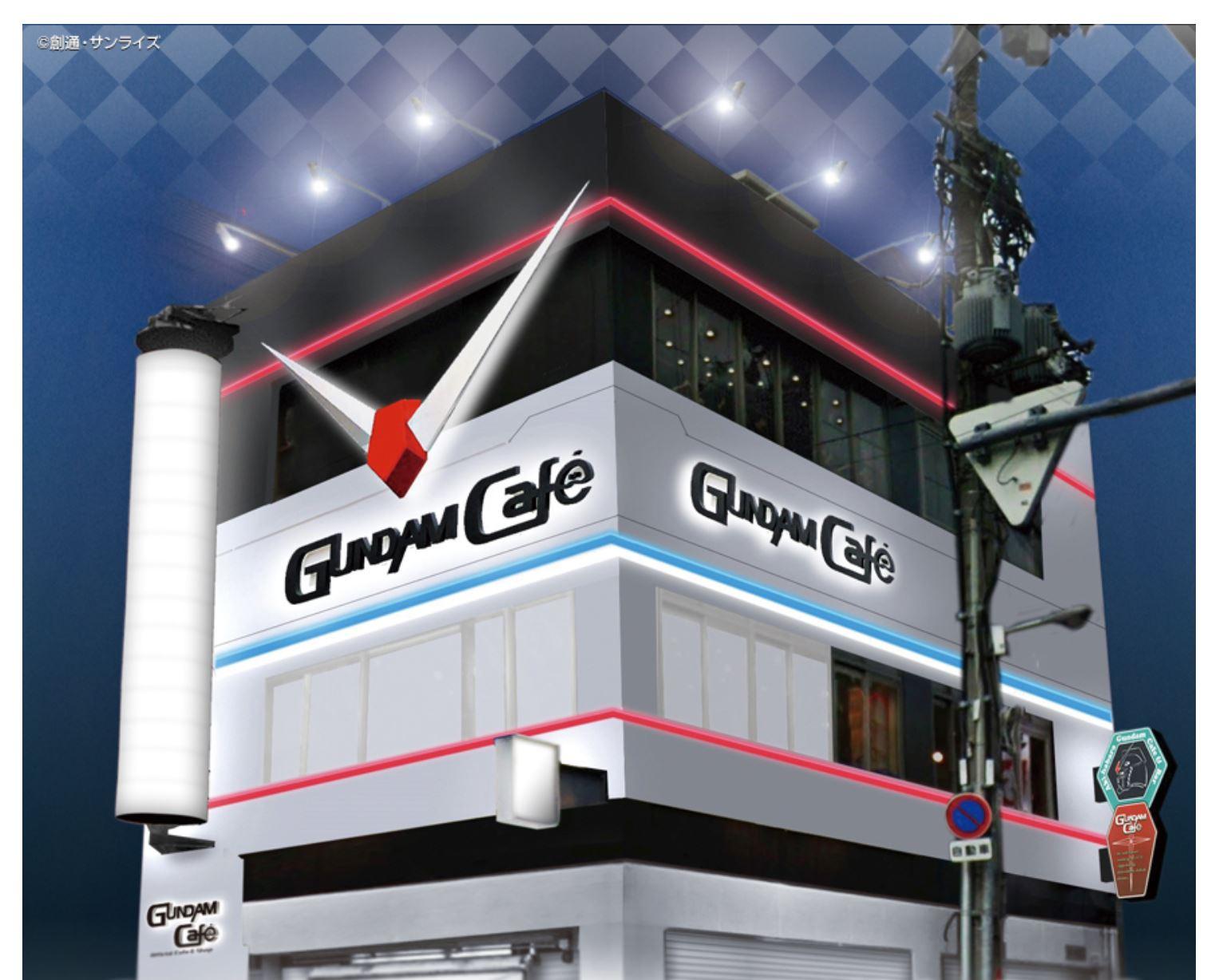ガンダムカフェ大阪道頓堀の待ち時間と混雑状況は?空いてる時間帯を予想!